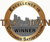 Smiles Northwest's 2011 CMUS Talk of the Town Award for Excellence In Customer Satisfation
