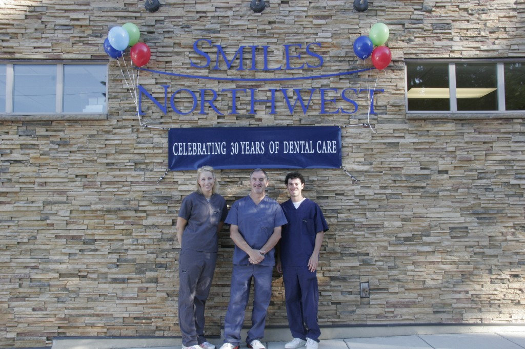 The doctors at Smiles Northwest in Beaverton, OR celebrating 30 years of dental care!