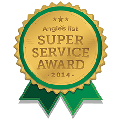 Super Service Award 2014 Badge