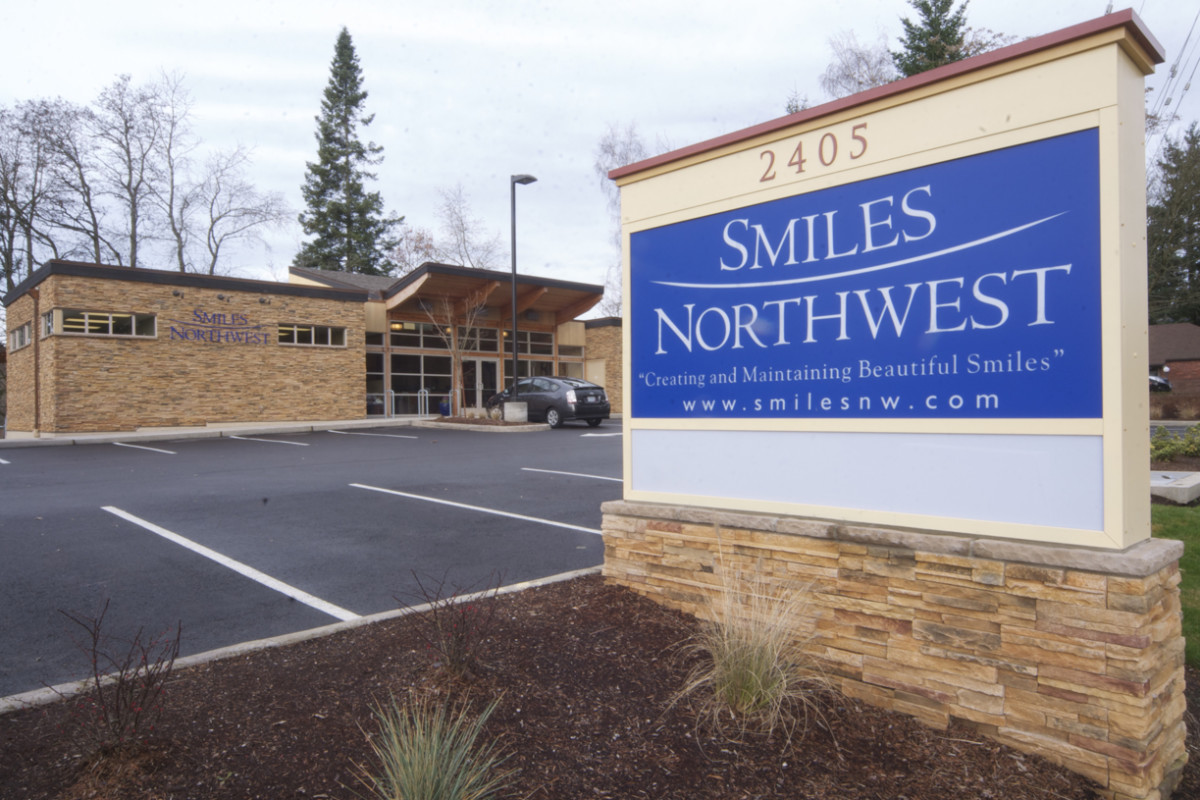 A view of the Smiles Northwest office located in Beaverton, OR