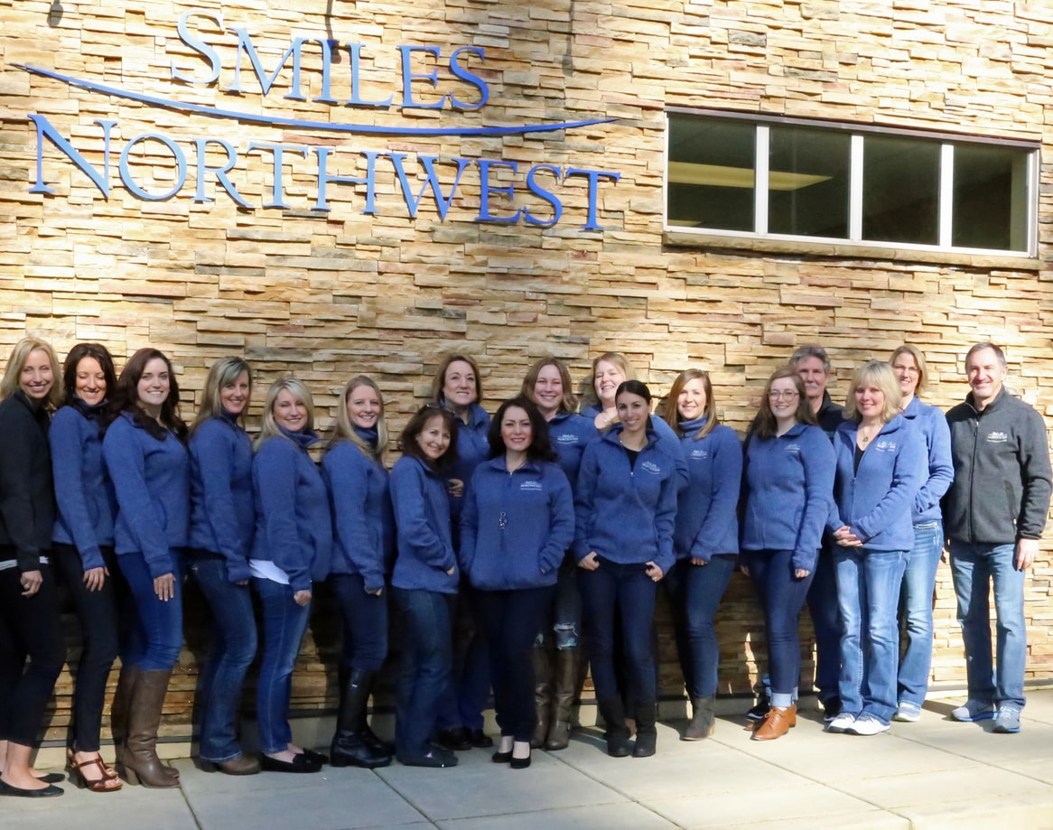 Our Beaverton dentists and their amazing team at Smiles Northwest.