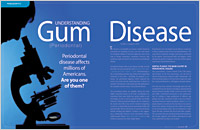 The cover of our article titled Understanding Gum (Periodontal) Disease