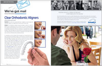 The cover of our article titled Invisalign Orthodontics