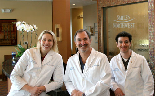 The dentists of Smiles Northwest in their Beaverton, OR dental practice