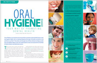 The cover of our article titled Oral Hygiene - Dental Health for Life
