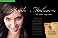 The cover of our article titled The Impact of a Smile Makeover